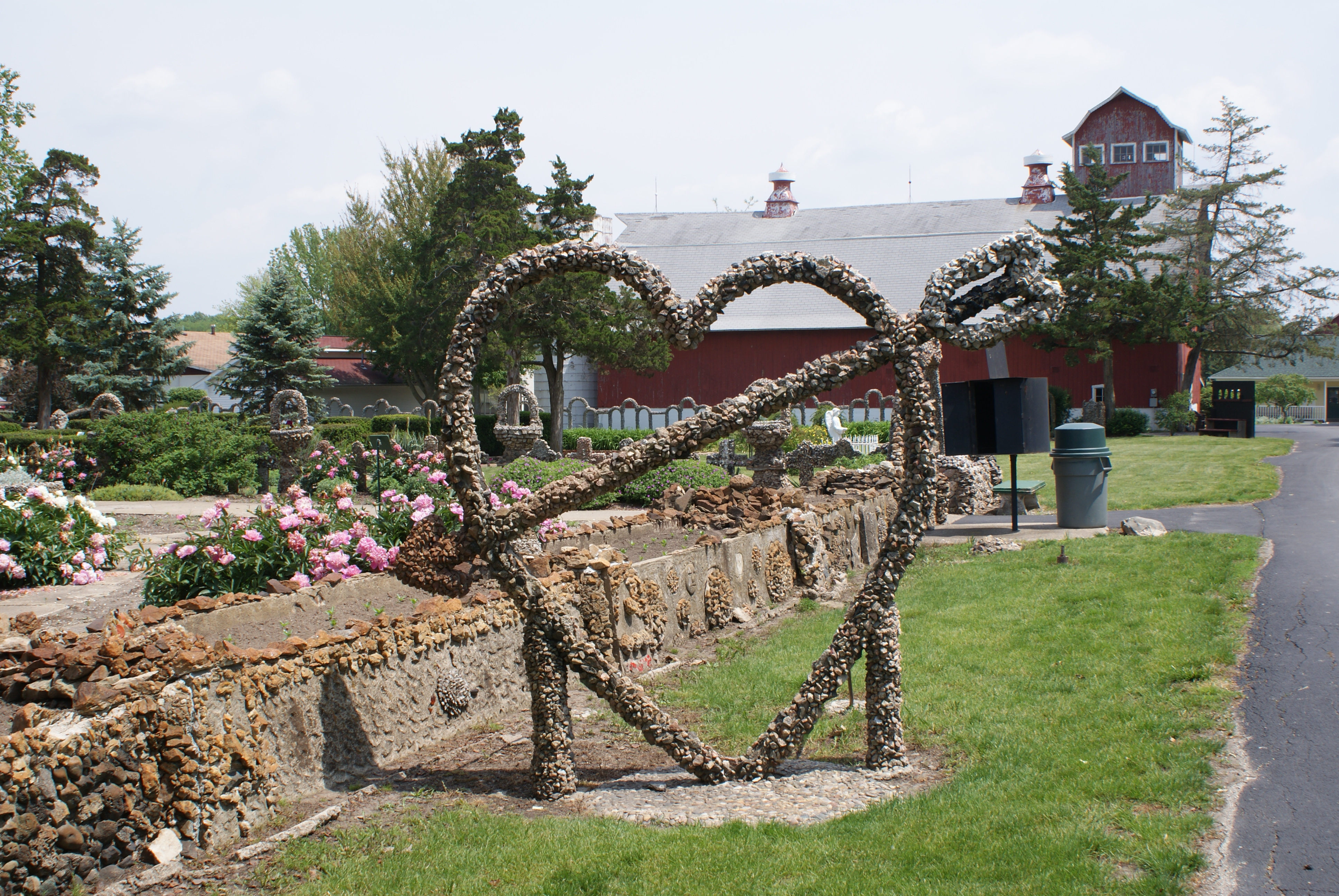 Rockome Gardens, a place of flowers and stones