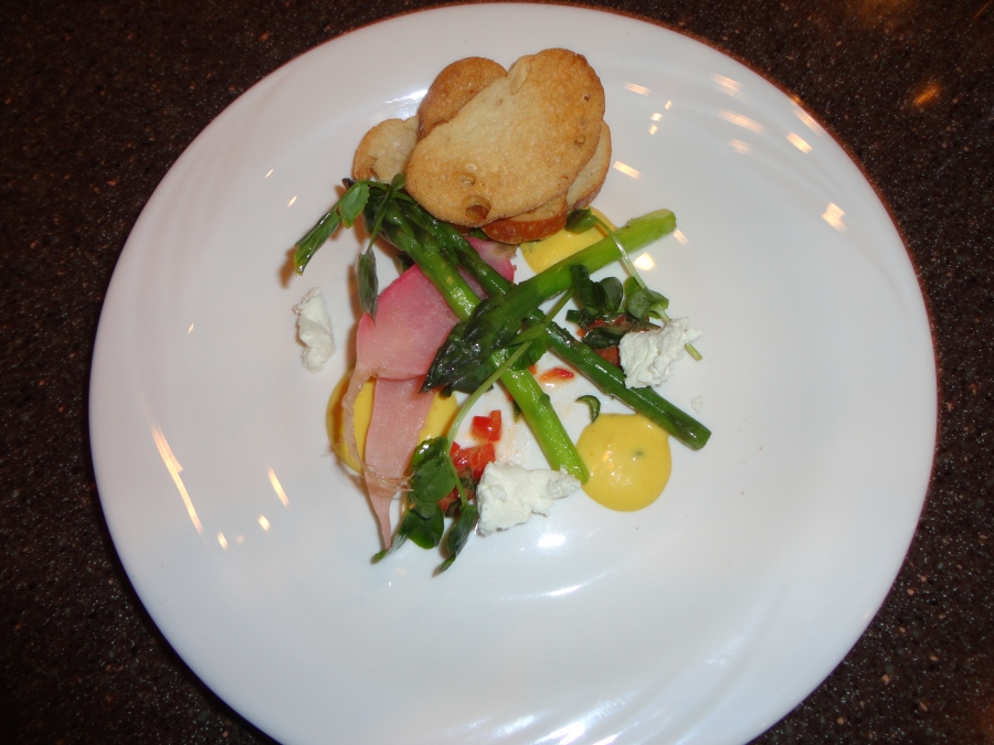 One of the courses of the First Harvest meal from American Harvest
