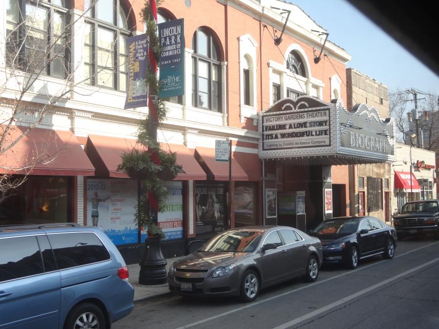 Biograph Theater where Dillinger met his demise!