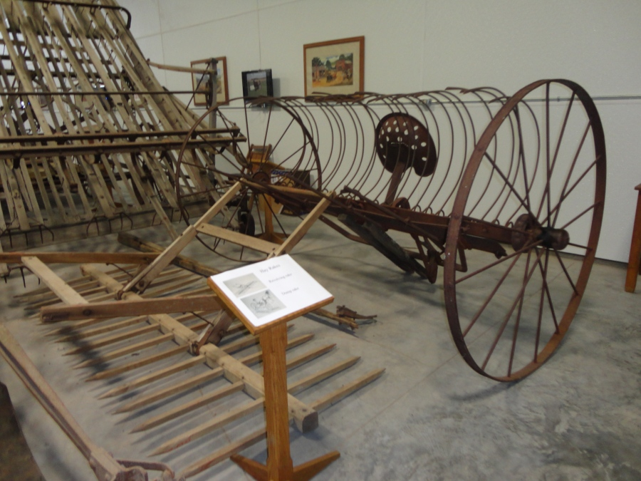 Like horse drawn equipment?  Come to the Horse and Buggy Museum in Biggsville, Illinois