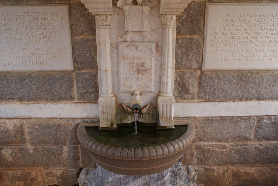 Fountain at Andersonville Prision