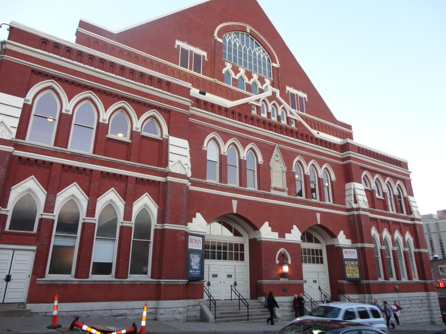From Union Gospel Tabernacle  - Ryman Auditorium