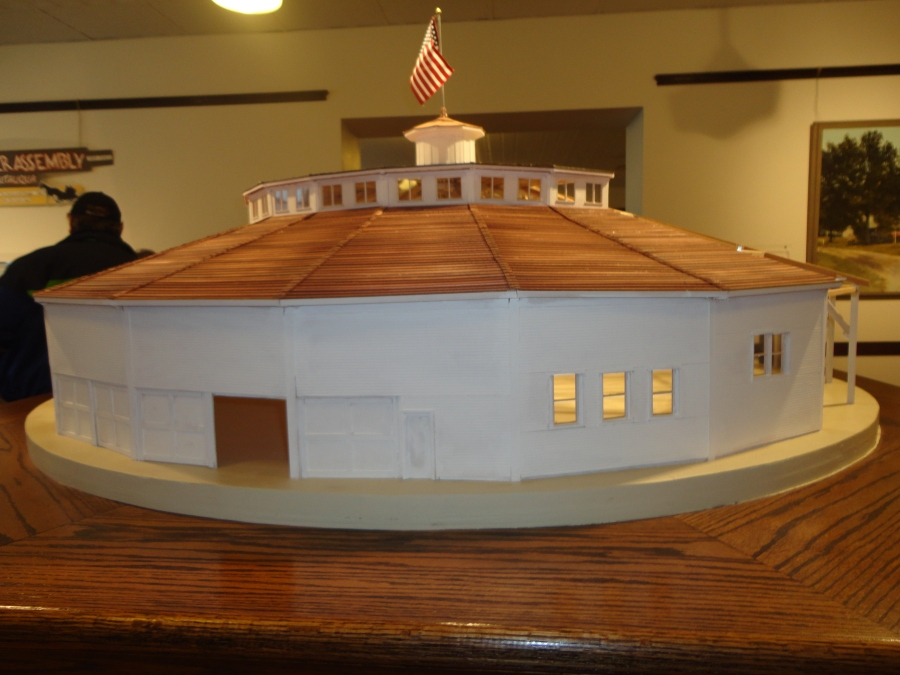 Model at Dixon Historic Center, real one in Shelbyville, IL