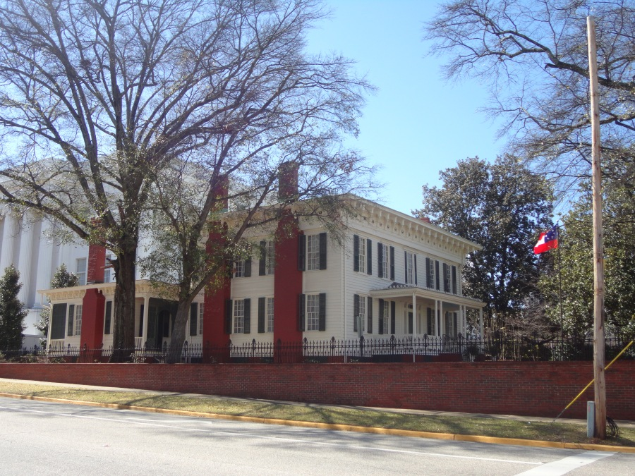 The First Confederate Whitehouse located in Montgomery, AL (picture by Keith Ladage_