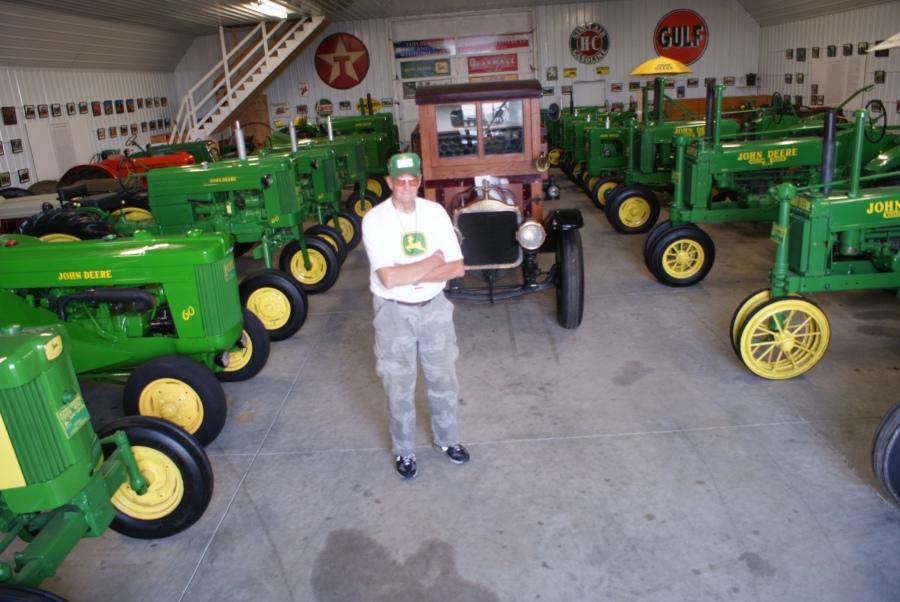Newbold Farm's - a John Deere tractor experience