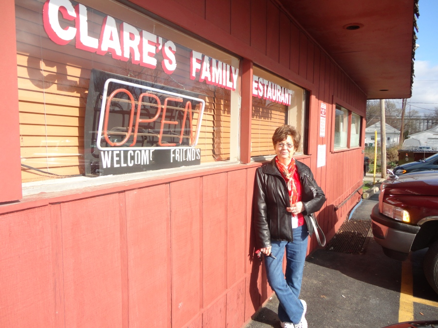 Clare's Family Restaurant, a fun find