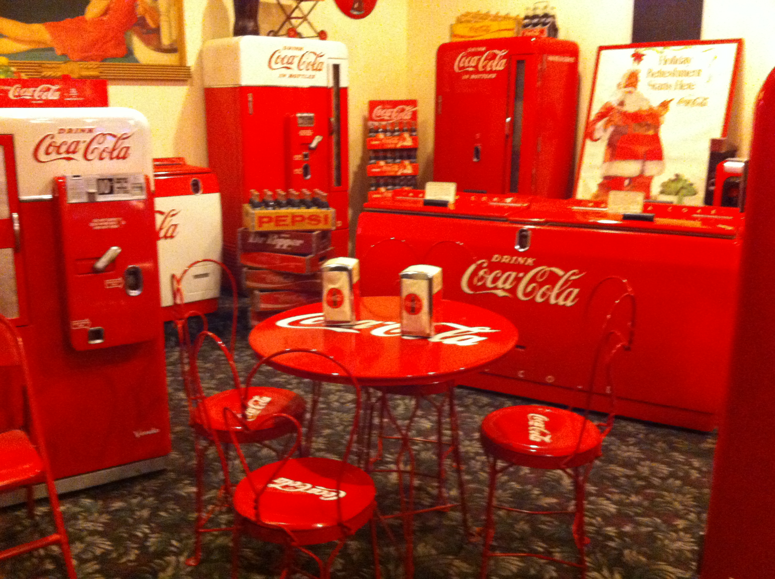 Movie Theater displays  Coca Cola Collection