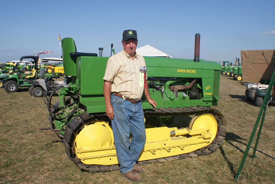 The John Deere 60 crawler created by Tim Sweeney- Picture by Keith Ladage