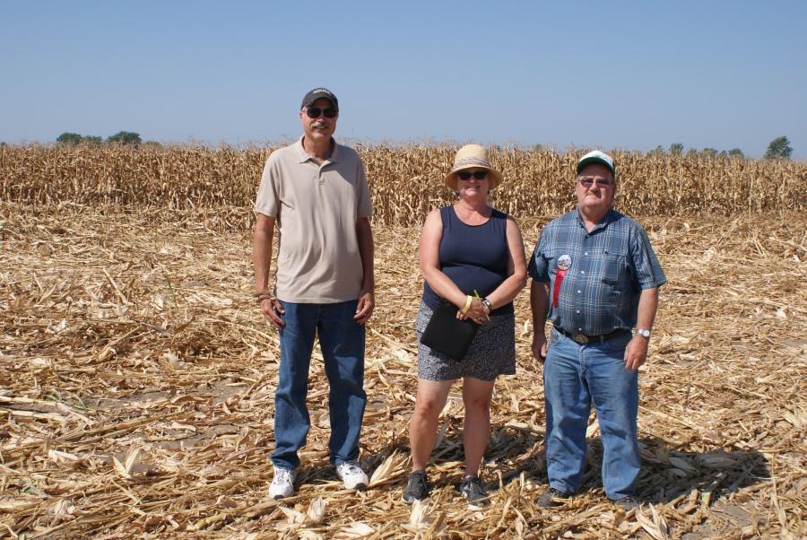 Hand Corn Husking Champions share tips
