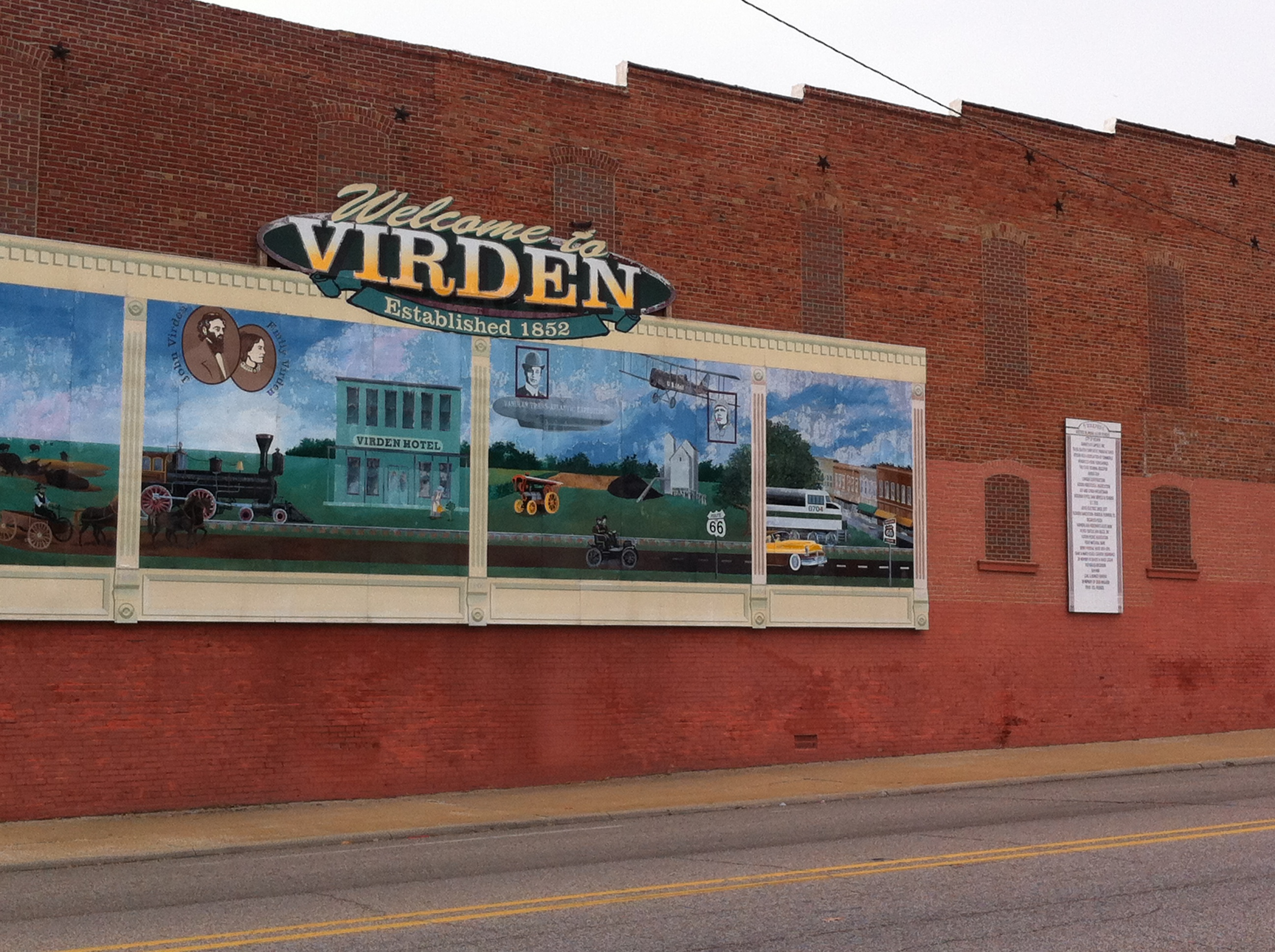 Murals add small town charm