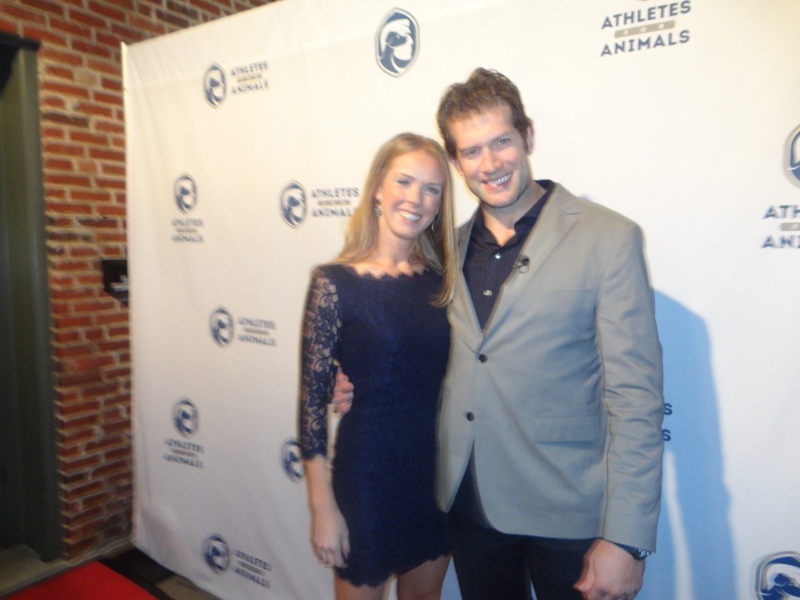 At the Mandrian Lounge in St. Louis David and Kelly Backes launched their new pet charity