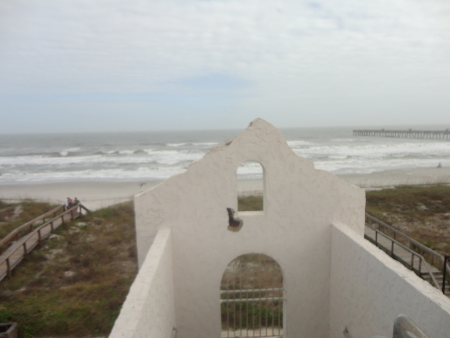 View from the Penthouse Lounge at the Casa Marina - Picture by Rose Hammitt