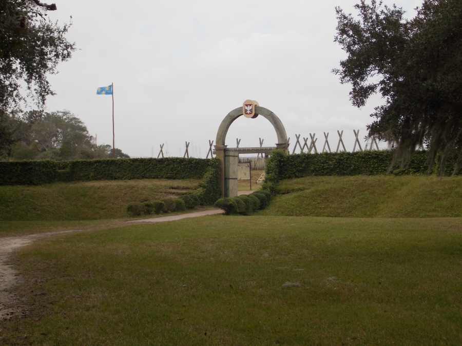 Fort Caroline, the First French Settlement