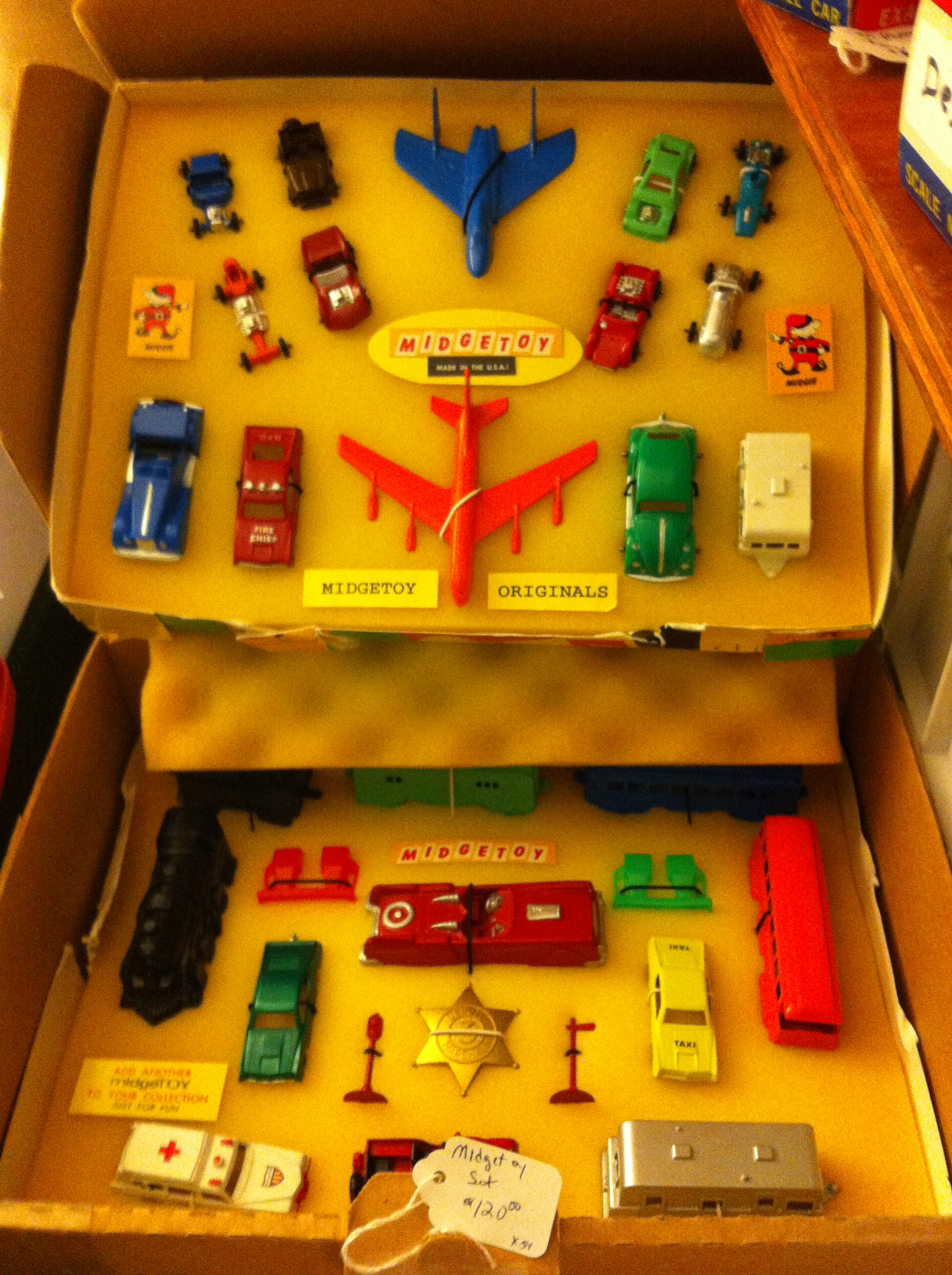 Midgetoys were among some of the unusual toys spied at toy show