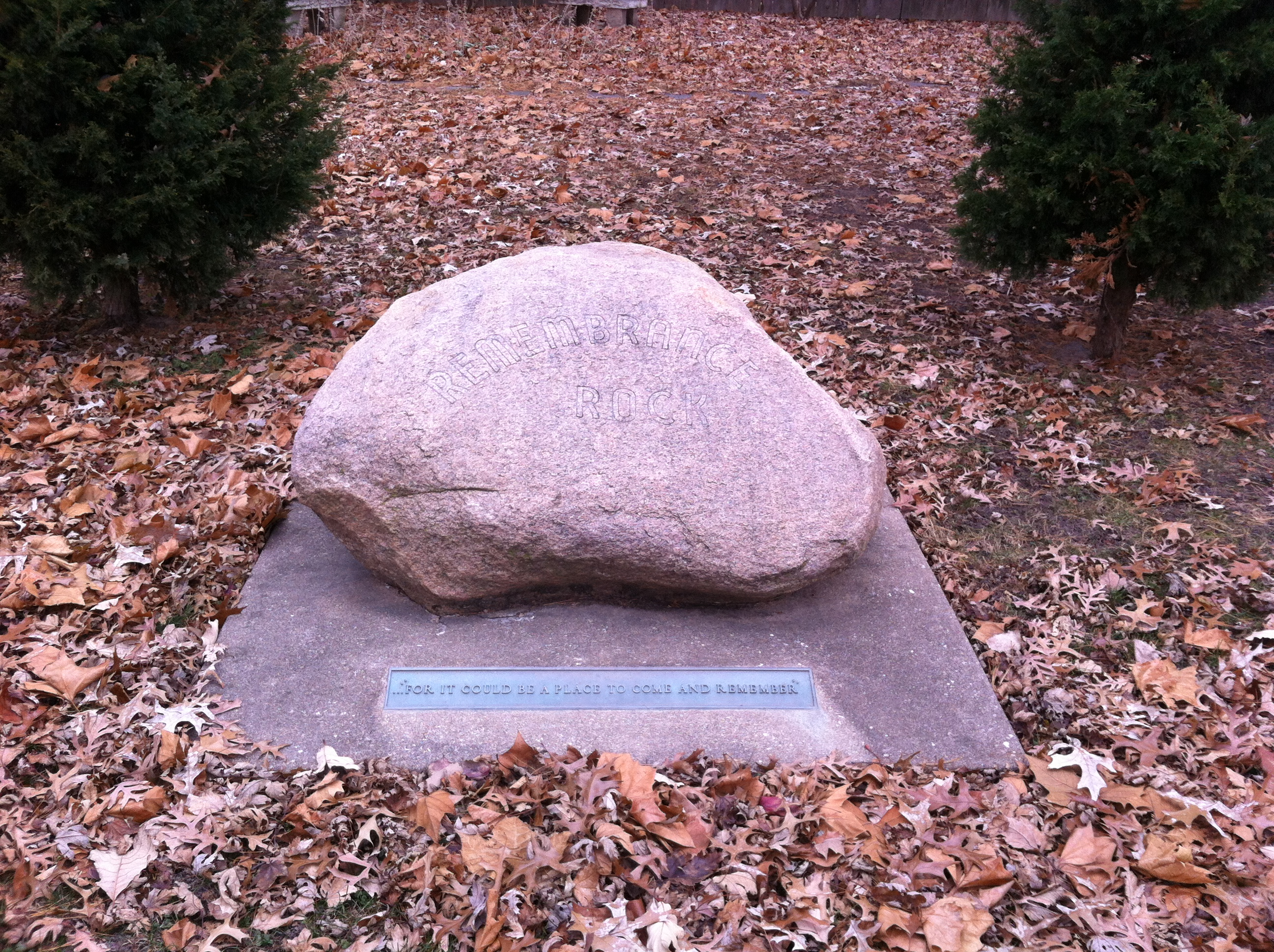 Carl Sandburg's Remembrance Rock