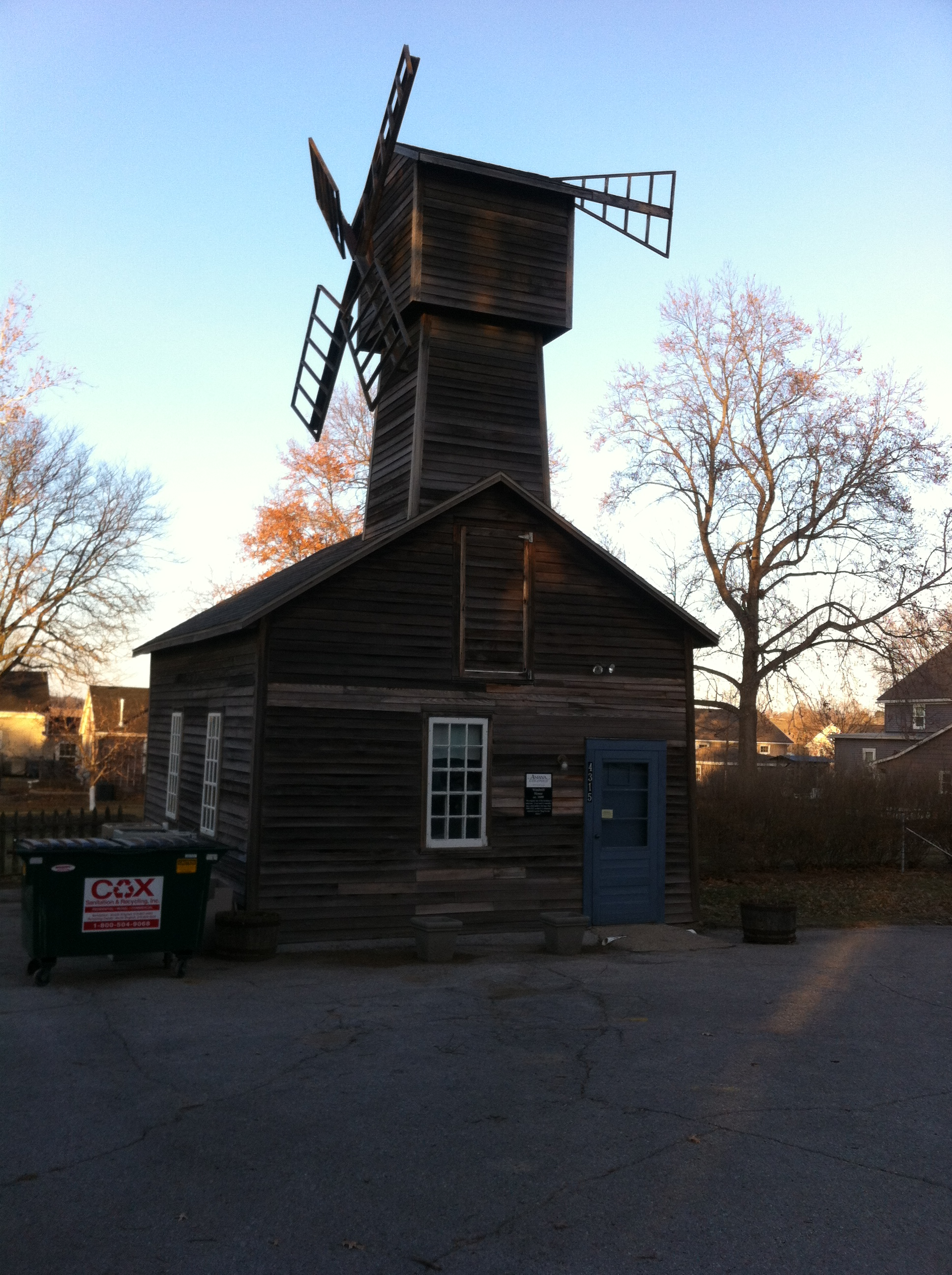 Windmill House Amana Colonies
