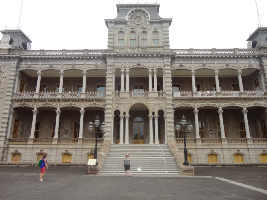 Iolani Palace the only royal palace on US Soil
