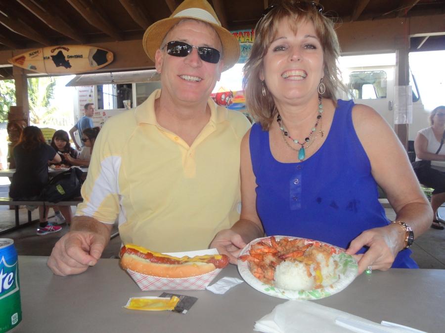 Shrimp from Giovanni's Shrimp Truck!