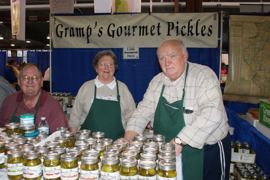 Pickles and beets great success at 2014 Illinois Products Expo
