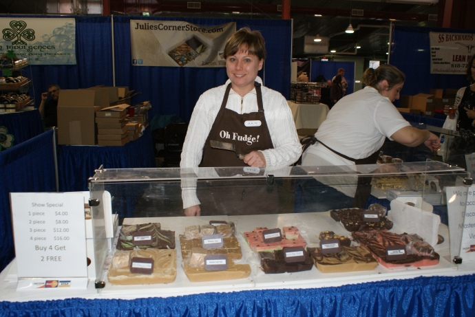 Julie's Corner Store offers fudge galore