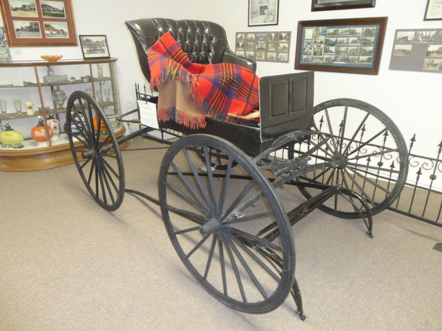 Kibbe Museum offers Lincoln and local history along with a few agricultural surprises as well.