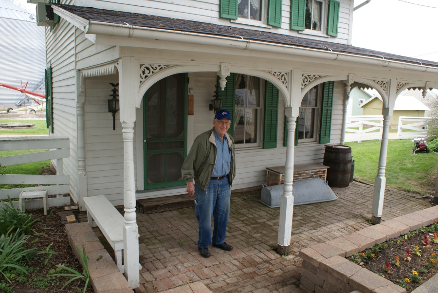 Harold Steele, an amazing man with an amazing farm and home museum