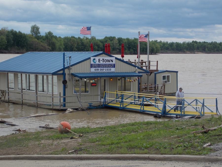 E'Town River Restaurant, catfish heaven!  - Photo by Rose Hammitt
