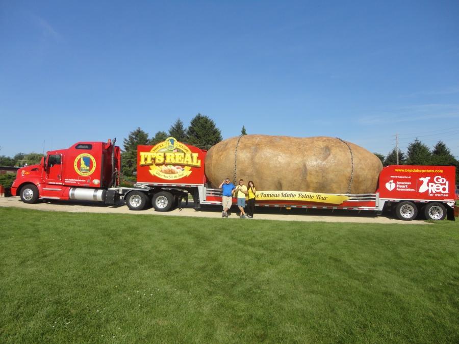 Big Idaho Potato Truck tour