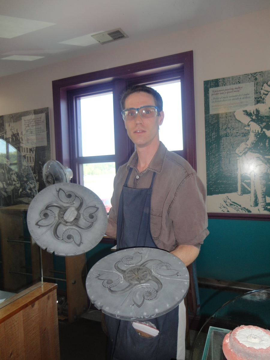 Amos Pewter in Mahone Bay offers lovely selection