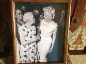 Marilyn visiting